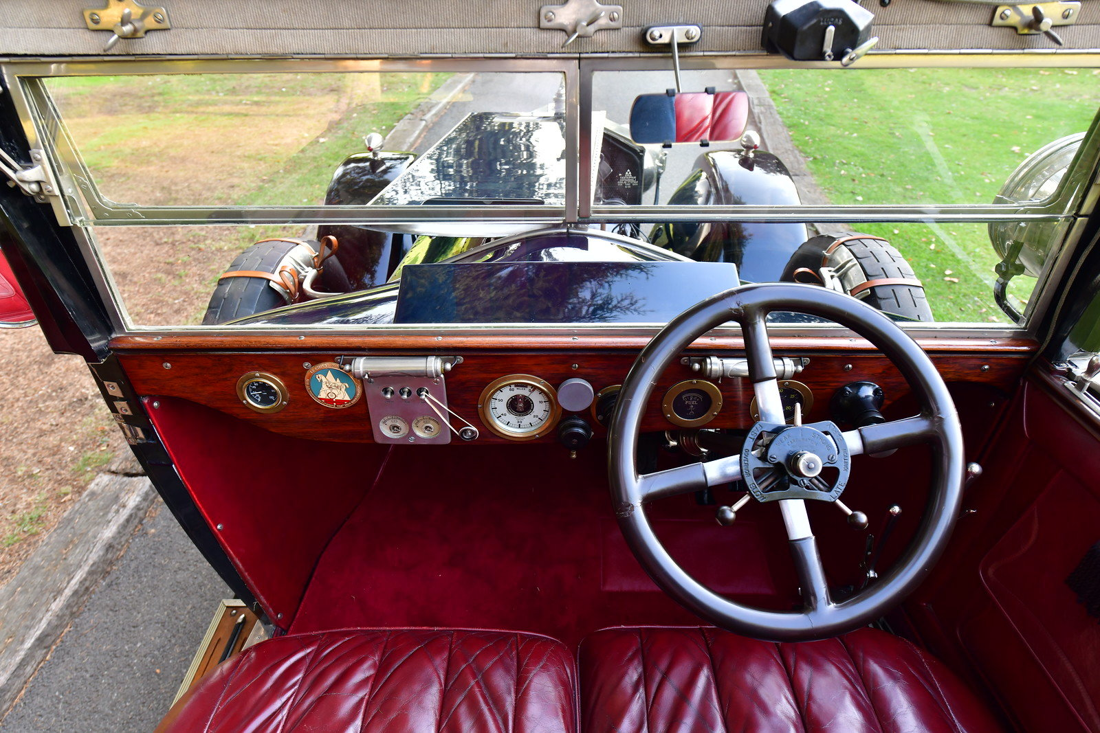 1923 Rolls Royce Silver Ghost Barker 3/4 Cabriolet For Sale (picture 4 of 6)