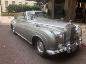 1962 Rolls-Royce Silver Cloud 11 convertible For Sale