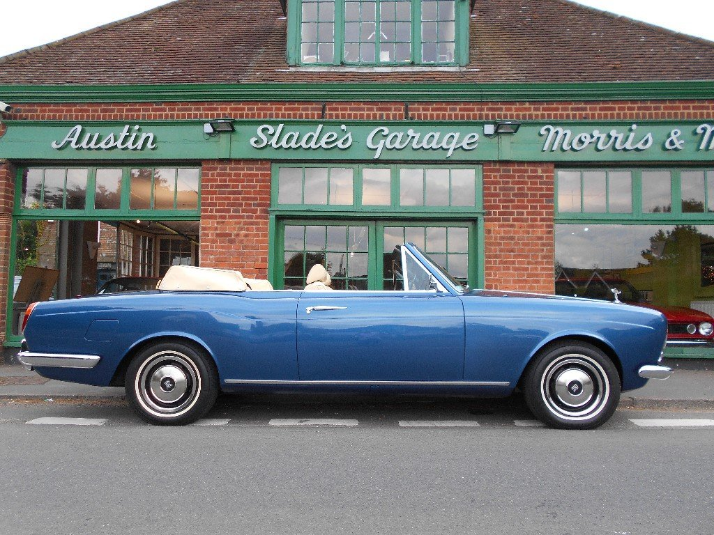 1973 Rolls Royce Corniche Convertible  For Sale (picture 1 of 4)