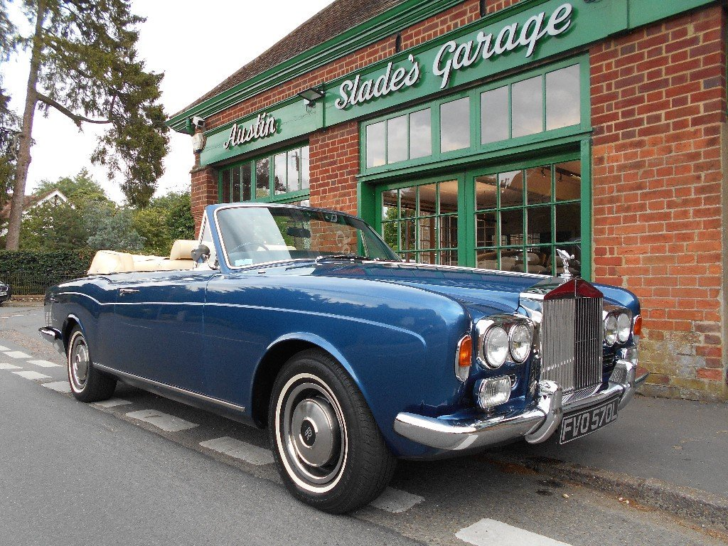 1973 Rolls Royce Corniche Convertible  For Sale (picture 2 of 4)