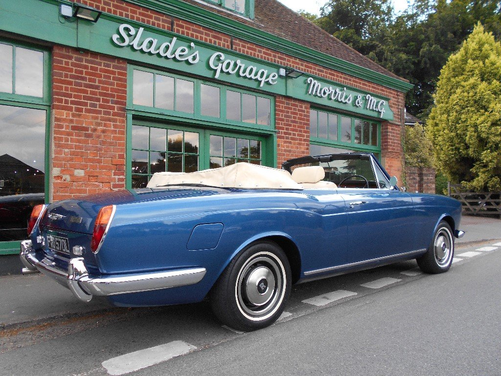 1973 Rolls Royce Corniche Convertible  For Sale (picture 3 of 4)
