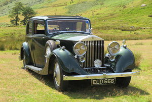 1937 Rolls-Royce 25/30 Thrupp & Maberly Sports Saloon GRP29 For Sale