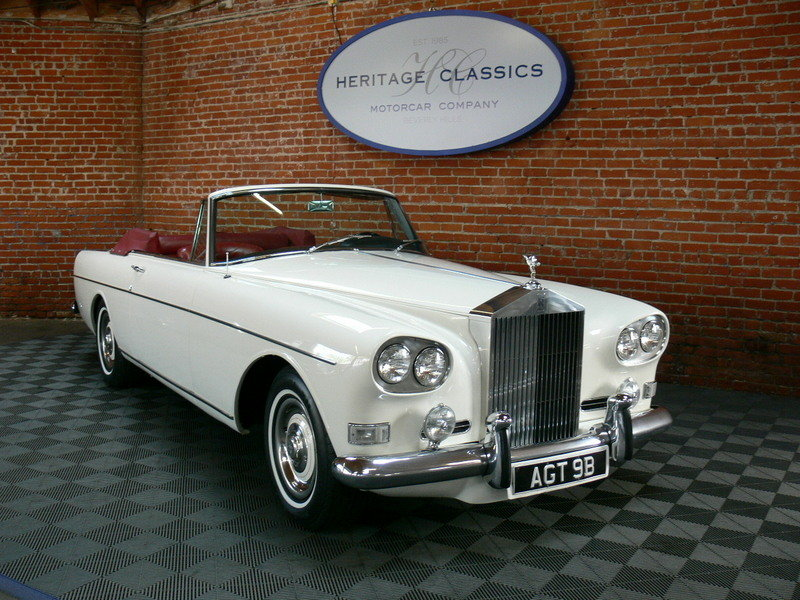 1964 Rolls Royce Mulliner Park Ward Drophead Coupe SOLD (picture 1 of 6)