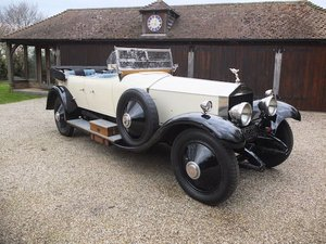 1924 Rolls-Royce Silver Ghost Tourer  SOLD