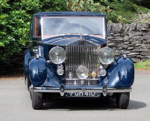 1938 Rolls-Royce Wraith H.J. Mulliner Sedanca de Ville WXA31 For Sale