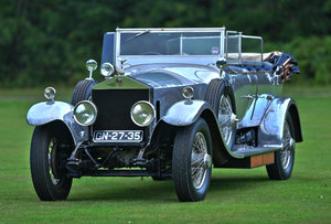 1925 Rolls Royce Silver Ghost  Barrel Sided tourer