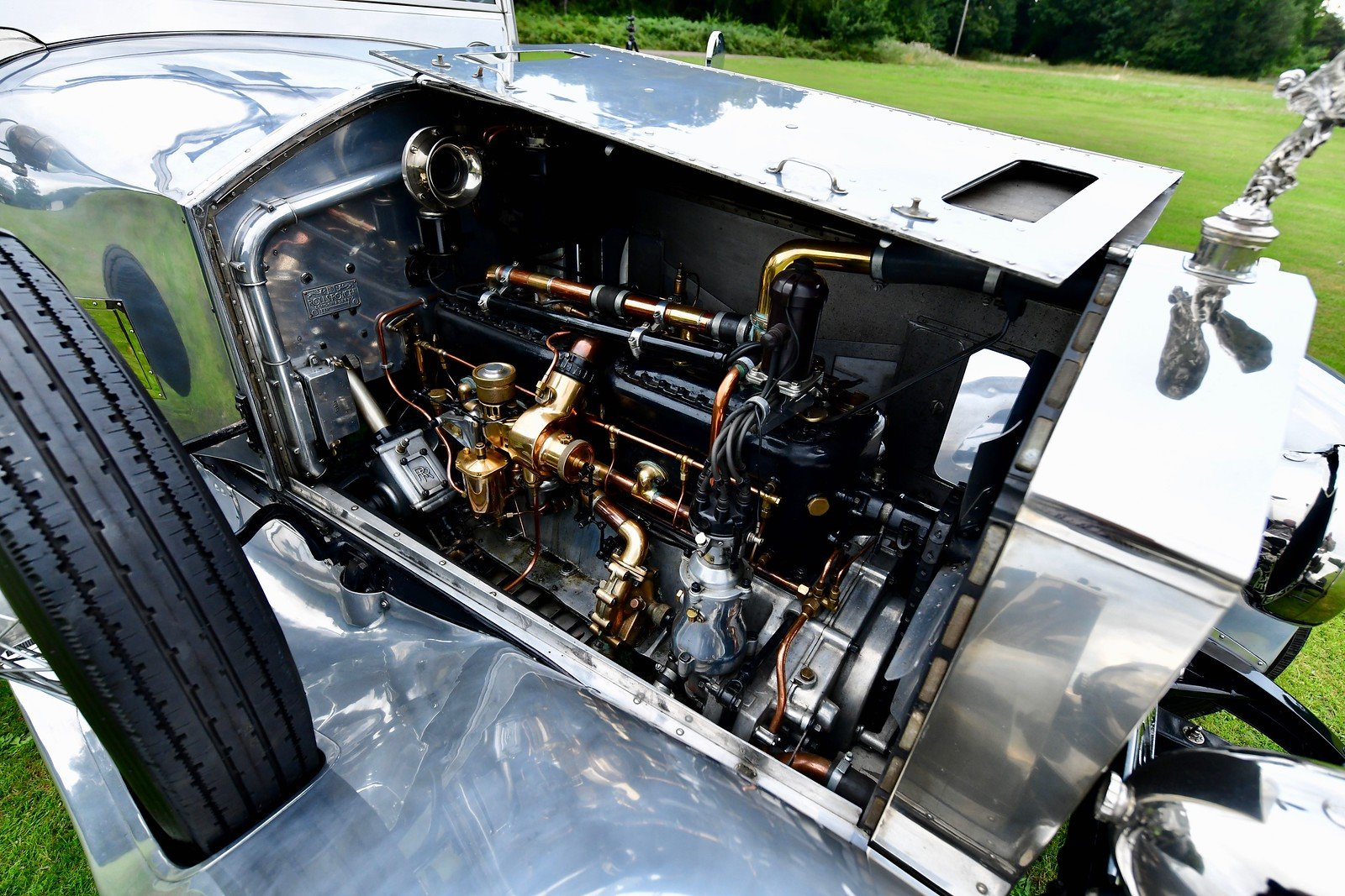 1925 Rolls Royce Silver Ghost  Barrel Sided tourer For Sale (picture 6 of 6)