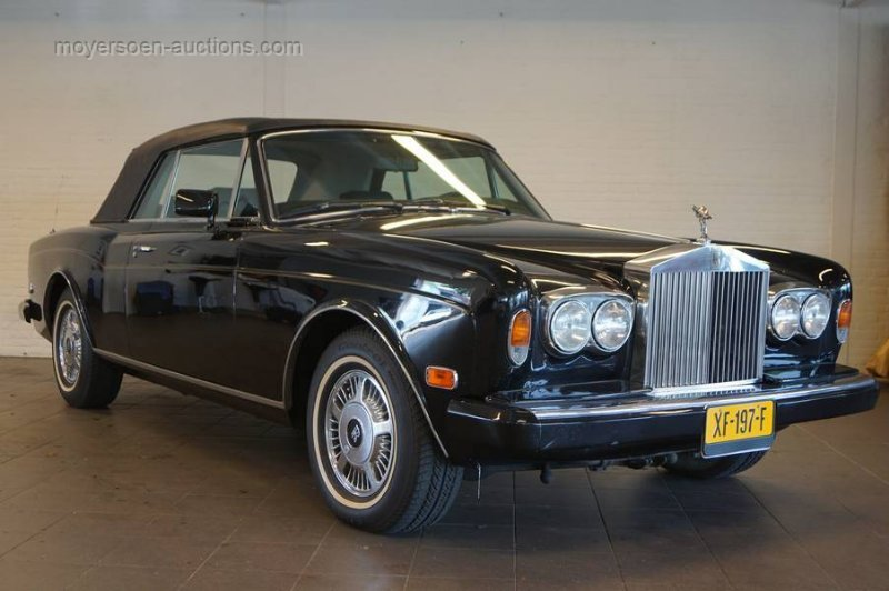 1987 ROLLS ROYCE Corniche II For Sale by Auction (picture 1 of 6)