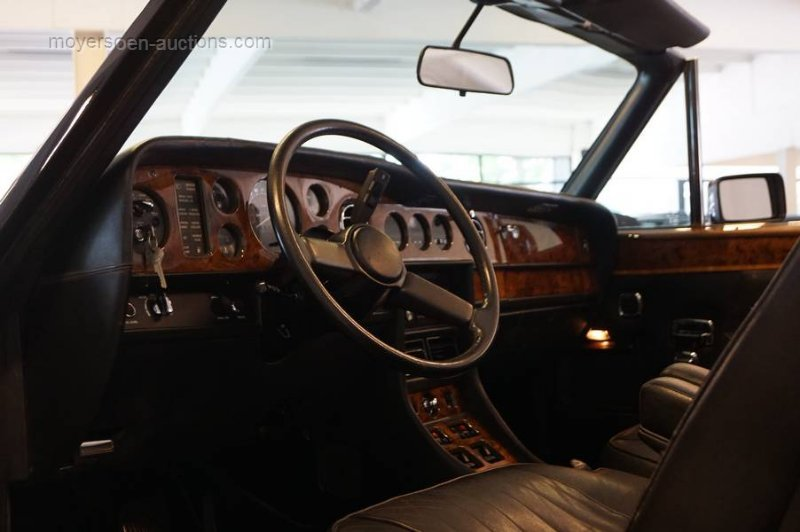 1987 ROLLS ROYCE Corniche II For Sale by Auction (picture 5 of 6)