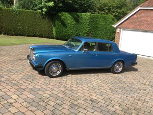 1981 SOLD  Rolls Royce Silver Shadow II Le Mans Blue  For Sale
