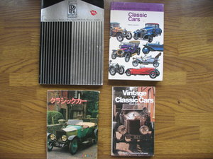 Four interesting books on Classic Motoring + Cars SOLD
