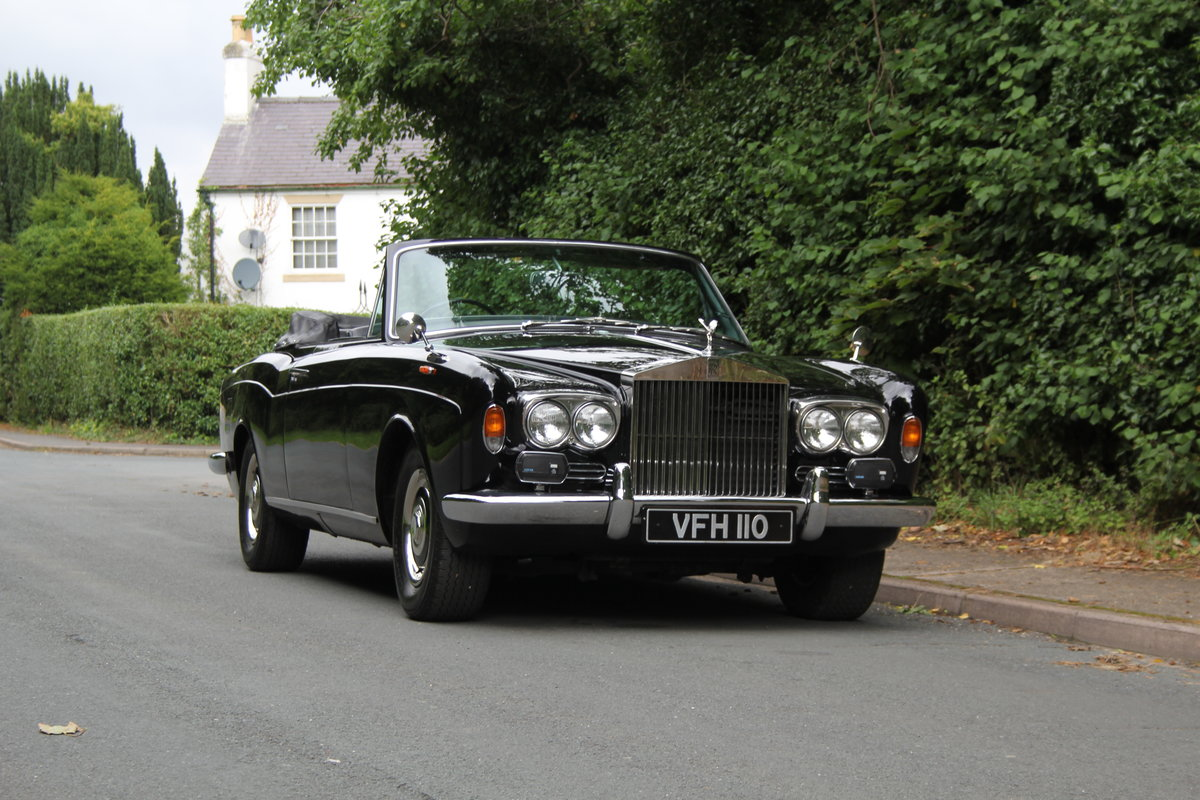 1970 Rolls Royce MPW Convertible - Low miles, ex Pinewood studios SOLD (picture 1 of 20)