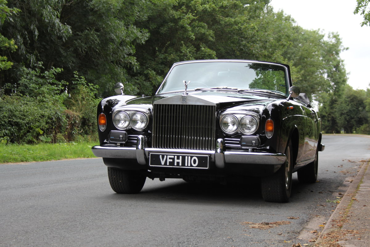 1970 Rolls Royce MPW Convertible - Low miles, ex Pinewood studios SOLD (picture 3 of 20)