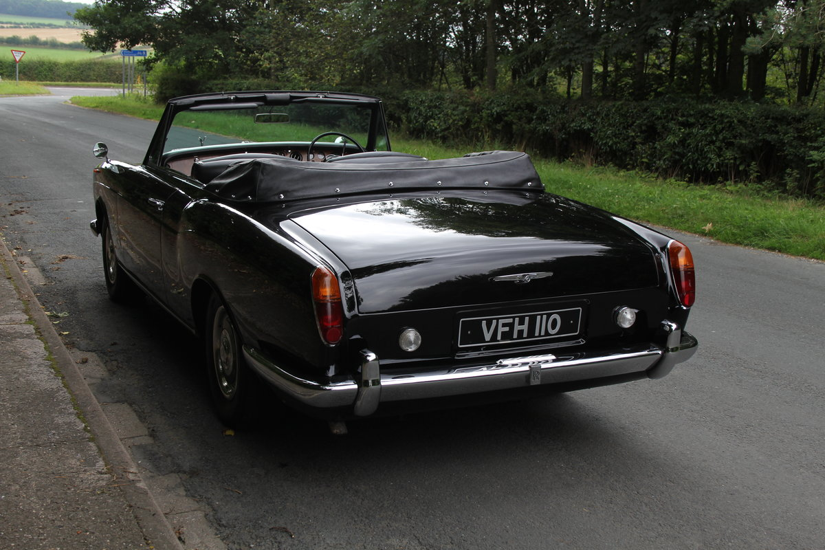 1970 Rolls Royce MPW Convertible - Low miles, ex Pinewood studios SOLD (picture 4 of 20)