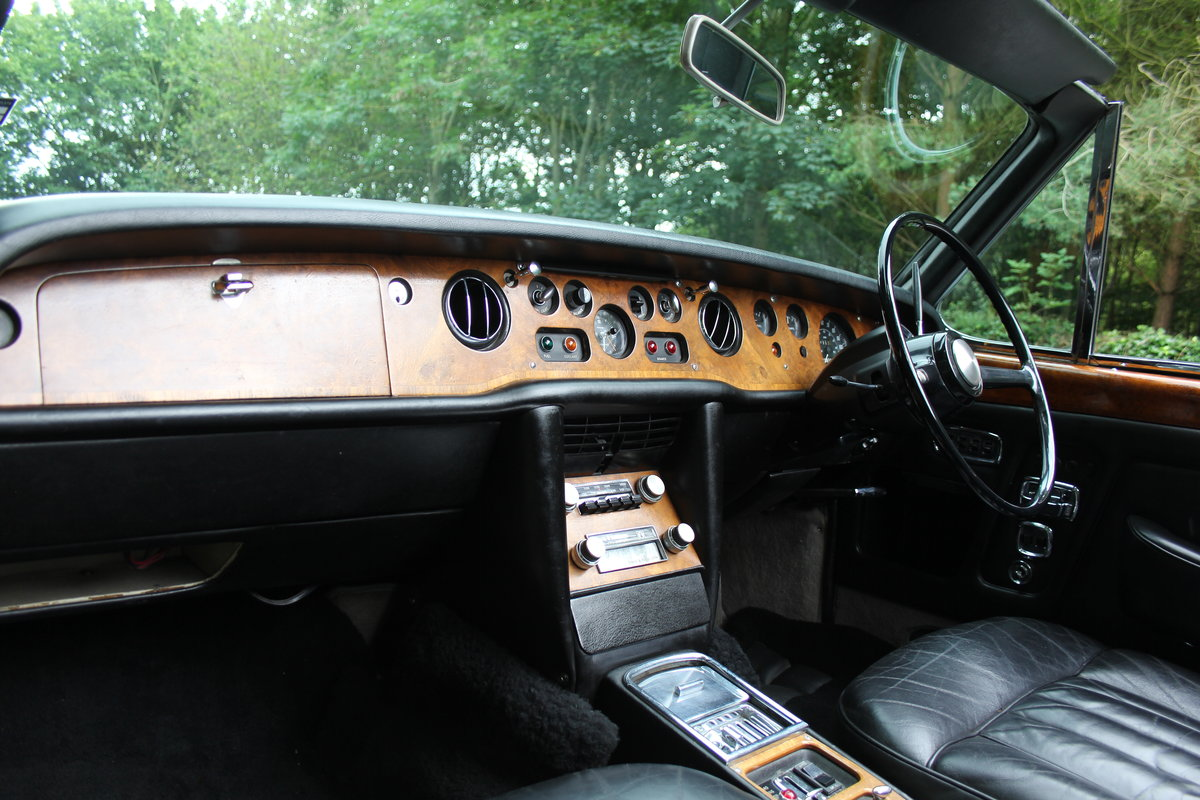 1970 Rolls Royce MPW Convertible - Low miles, ex Pinewood studios SOLD (picture 9 of 20)