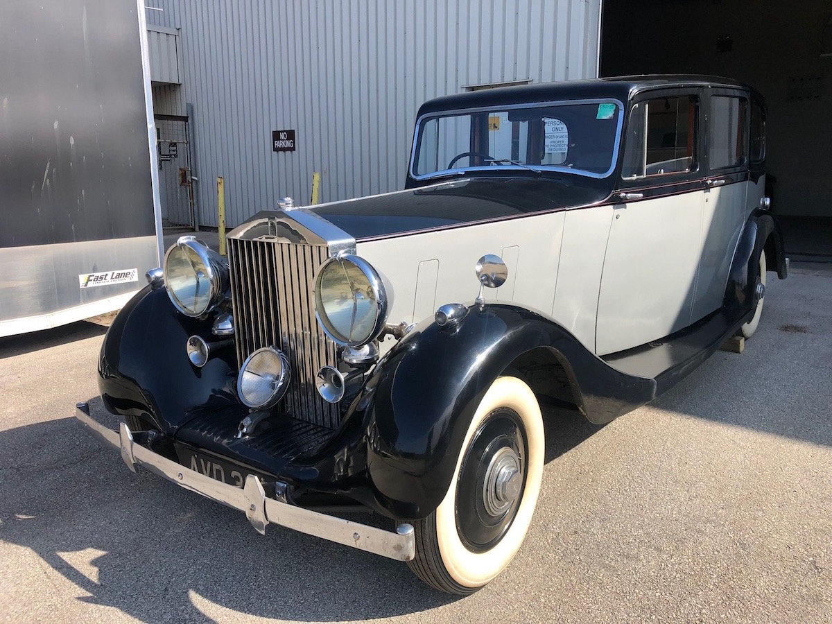 1939 Rolls-Royce Wraith Limousine Serial No. WMB52 For Sale (picture 1 of 6)