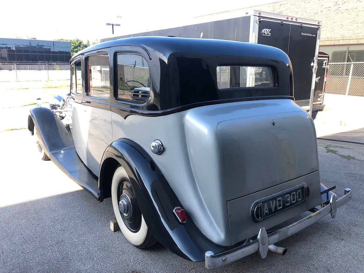 1939 Rolls-Royce Wraith Limousine Serial No. WMB52 For Sale (picture 2 of 6)