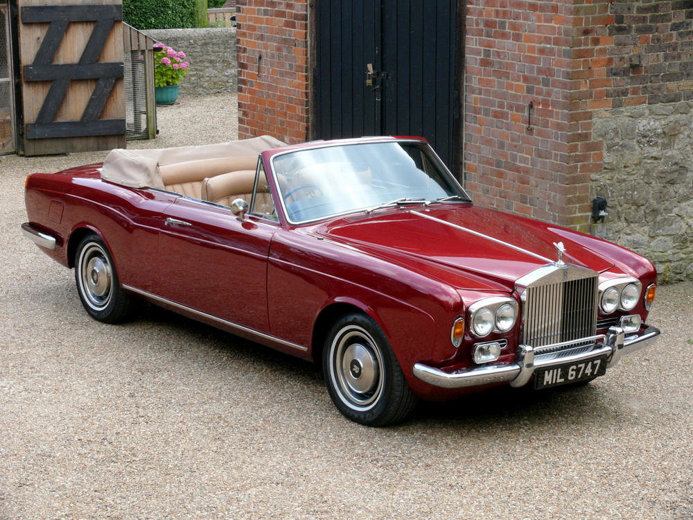 1972 Rolls-Royce Corniche Convertible For Sale (picture 1 of 6)