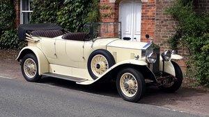 Rolls-Royce 20/25 Barrel Sided Tourer 1934 Concours Rebuild