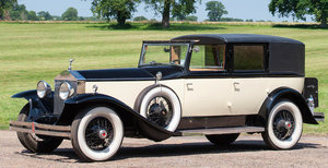 1929 ROLLS-ROYCE PHANTOM I HUNTINGTON SEDANCA DE VILLE For Sale by Auction