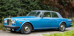 1982 ROLLS-ROYCE CORNICHE COUPÉ For Sale by Auction