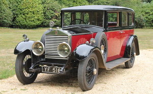 1927 ROLLS-ROYCE 20HP SIX-LIGHT SALOON For Sale by Auction