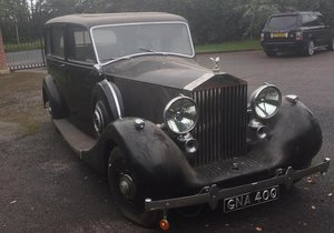 1938 ROLLS-ROYCE WRAITH LIMOUSINE PROJECT For Sale by Auction
