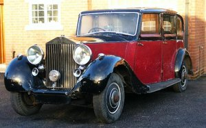 1937 ROLLS-ROYCE WRAITH LIMOUSINE PROJECT For Sale by Auction