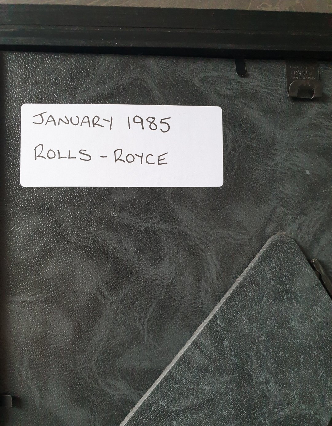 1985 Rolls-Royce advert Original  For Sale (picture 2 of 2)
