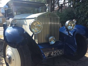 1929 Rolls Royce 20 For Sale