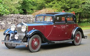 1933 Rolls-Royce 20/25 Rippon Sports Saloon GWX10 For Sale