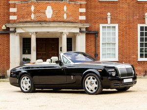 2008 ROLLS-ROYCE PHANTOM DROPHEAD COUPÉ For Sale by Auction
