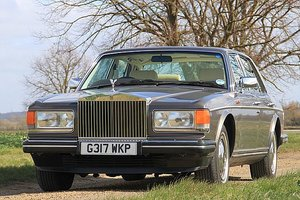 1990 Rolls Royce Silver Spirit 2 (Only 34,000 Miles) For Sale