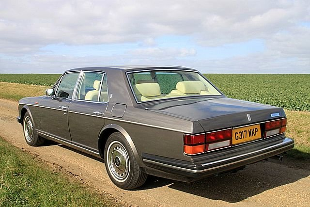 1990 Rolls Royce Silver Spirit 2 (Only 34,000 Miles) For Sale (picture 2 of 6)