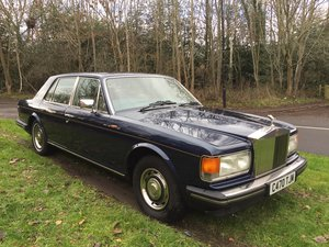 ROLLS ROYCE SILVER SPIRIT 72,000 miles and fabulous history  For Sale