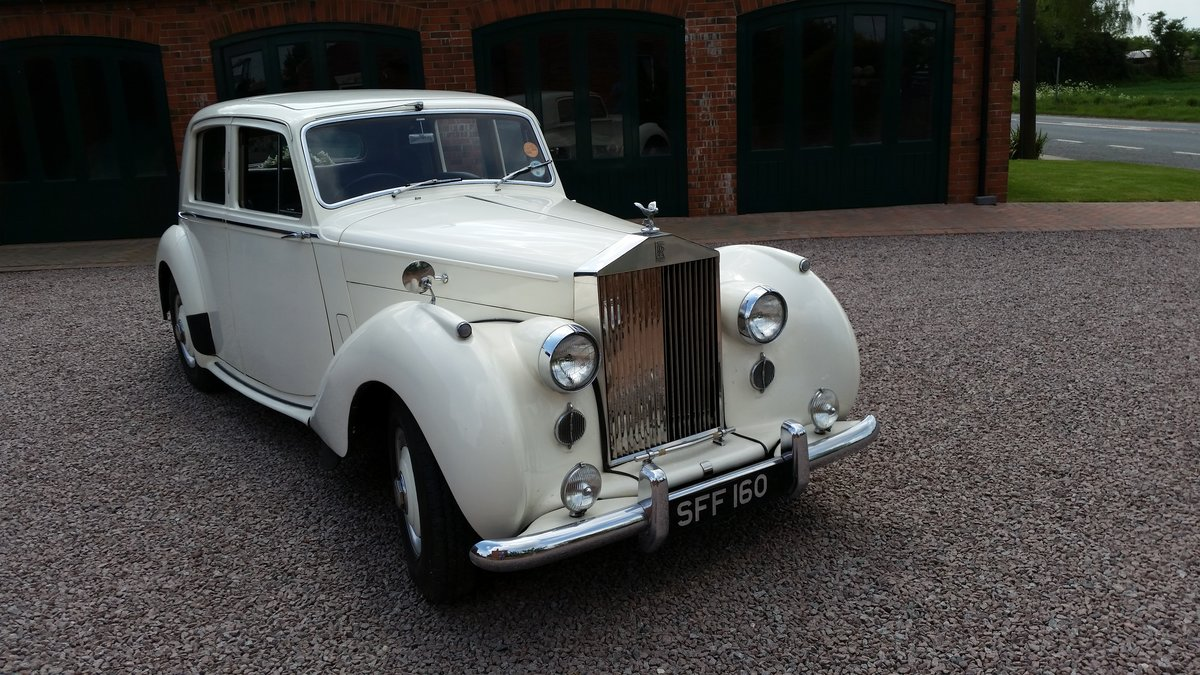 1952 Rolls Royce Silver Dawn  For Sale (picture 1 of 6)
