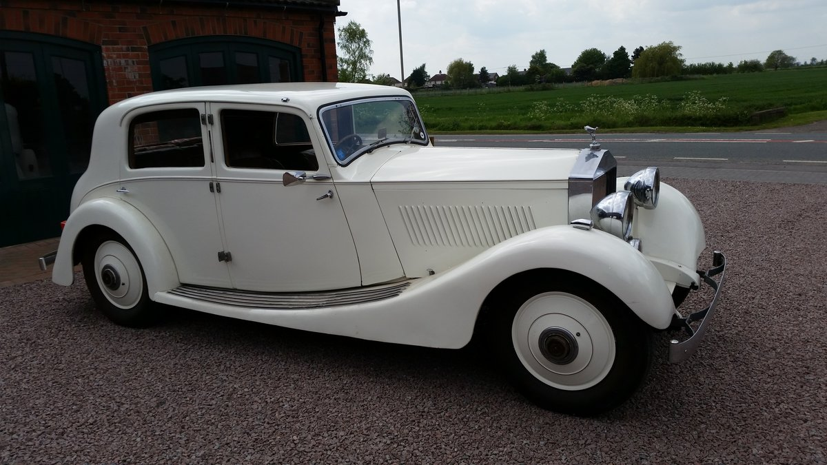 1925 Rolls Royce Sports Saloon  For Sale (picture 1 of 6)
