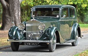 1938 Rolls Royce 25/30 H.J. Mulliner Saloon For Sale