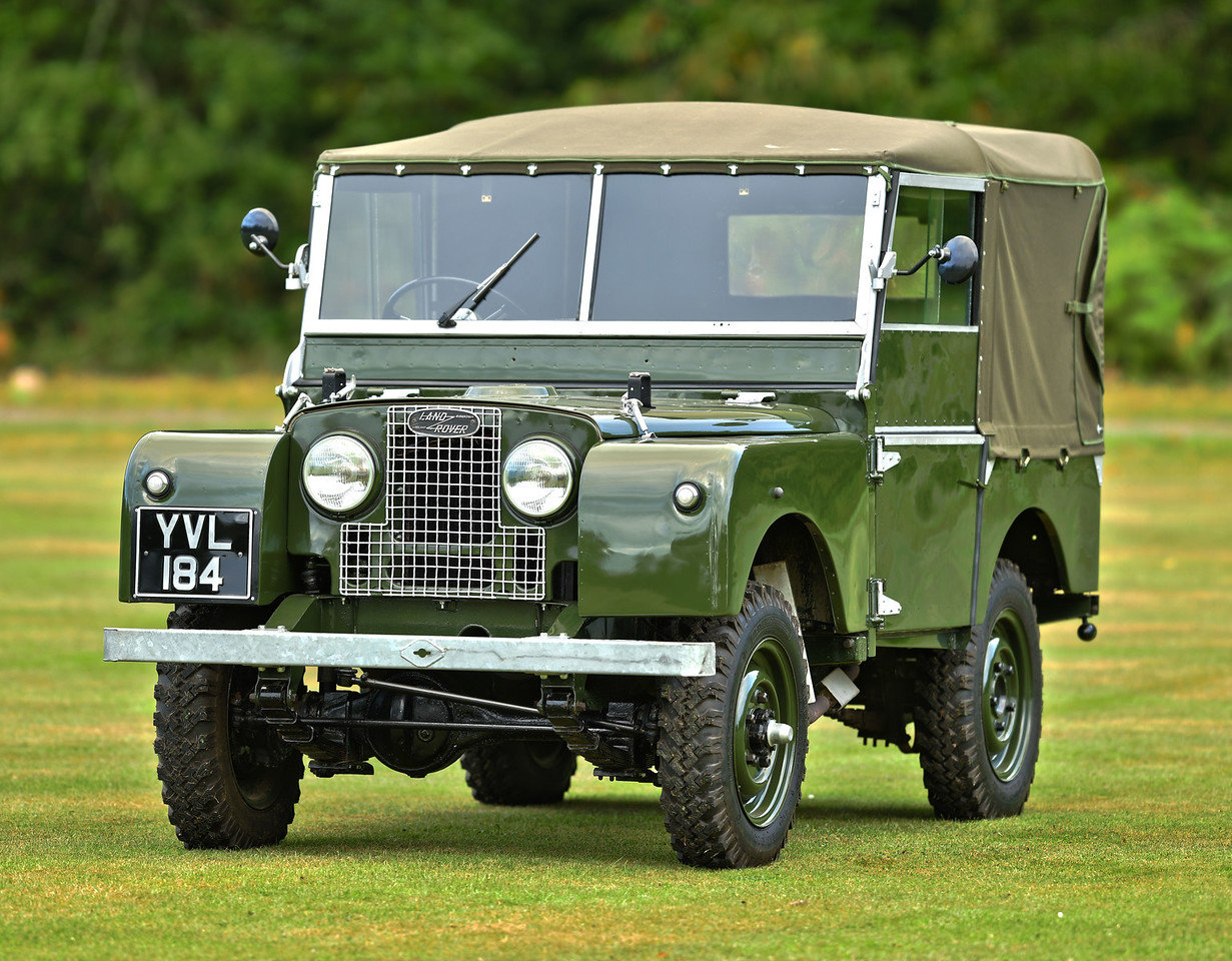 1952 Landrover Series 1 80 For Sale (picture 1 of 6)