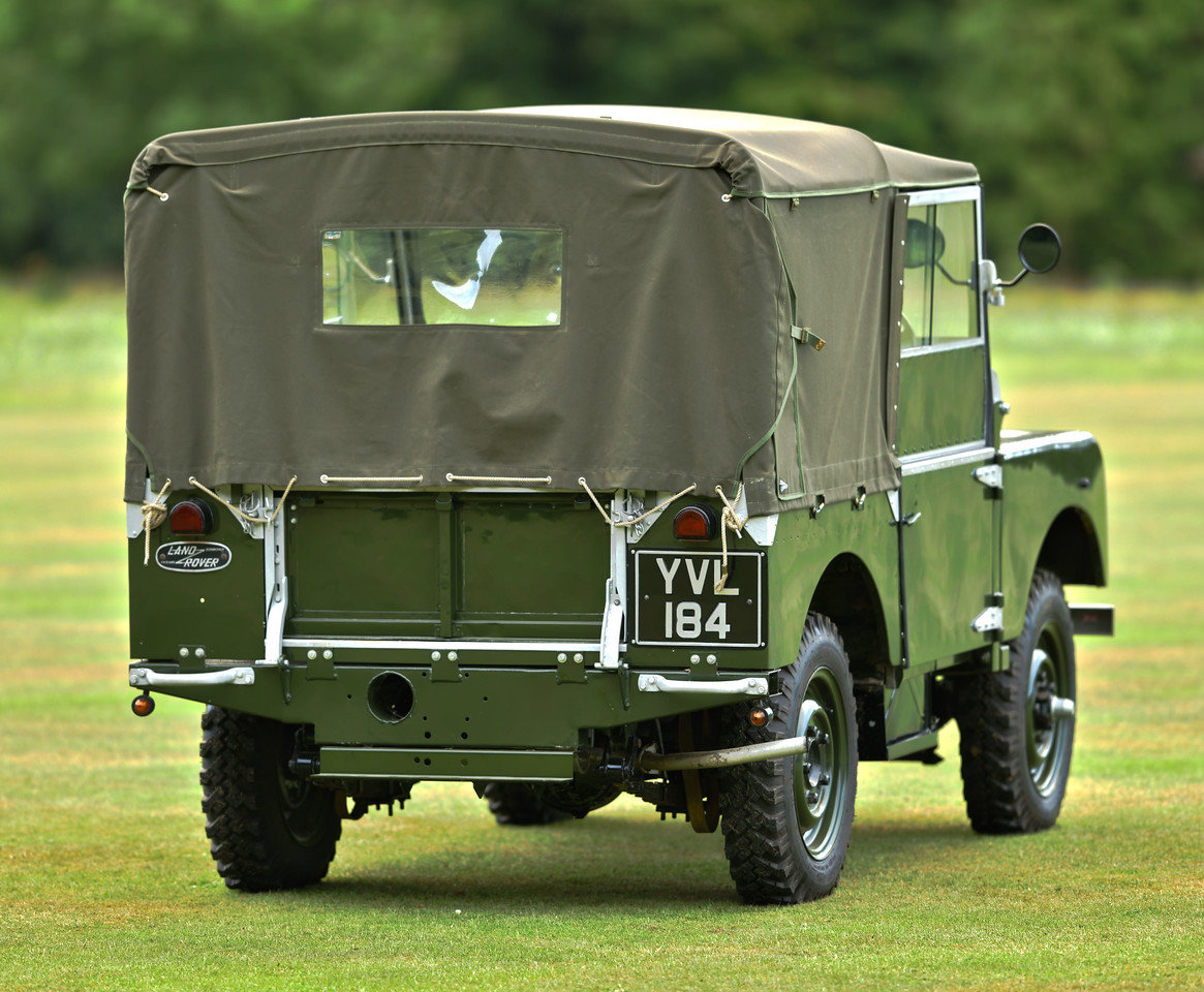 1952 Landrover Series 1 80 SOLD (picture 2 of 6)