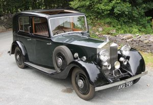 1935 20/25 Park Ward Saloon GSF58 For Sale
