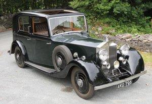 1935 20/25 Park Ward Saloon GSF58