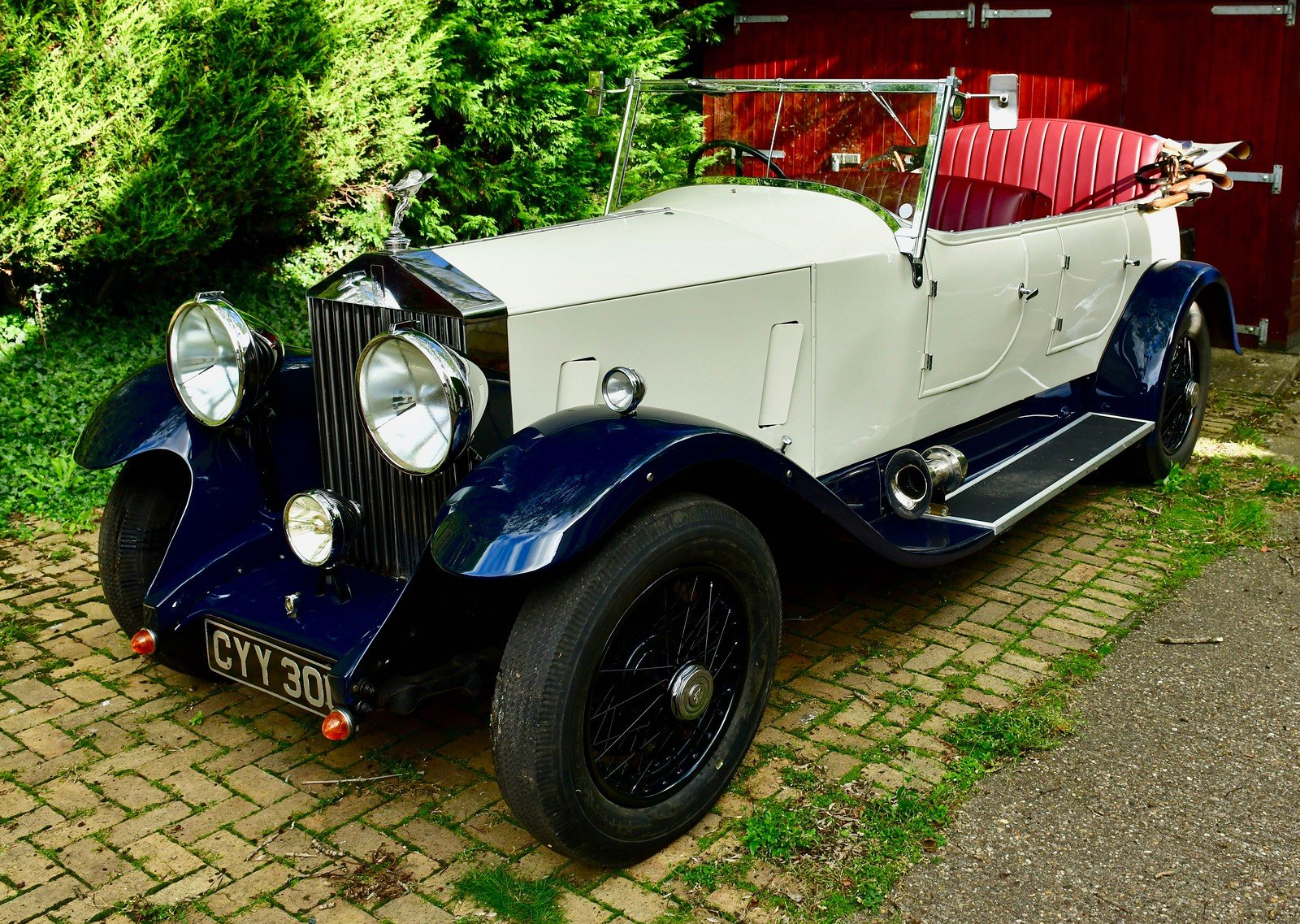 1936 Rolls Royce 25/30 Barrel sided tourer For Sale (picture 1 of 6)