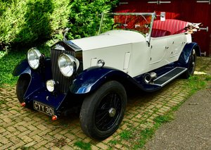 1936 Rolls Royce 25/30 Barrel sided tourer For Sale