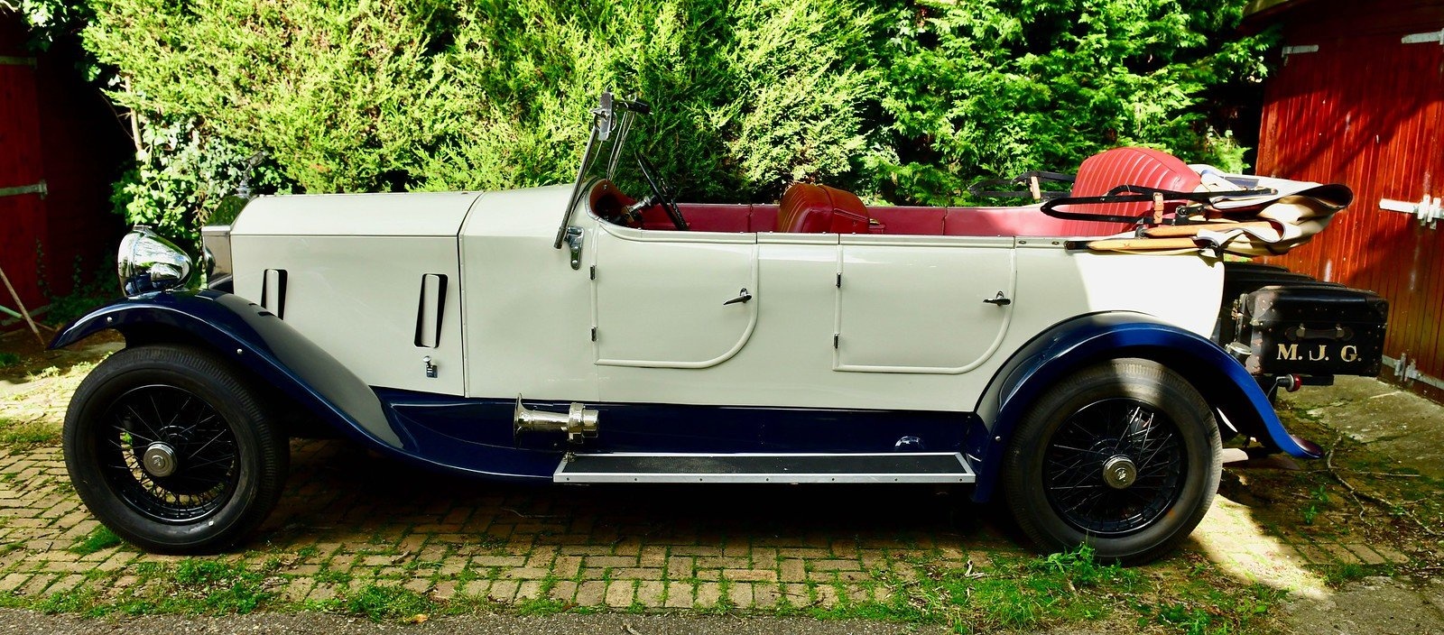 1936 Rolls Royce 25/30 Barrel sided tourer For Sale (picture 2 of 6)