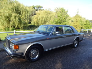 1982 Rolls-Royce Silver Spirit SOLD