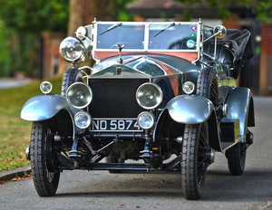 1924 Rolls-Royce Silver Ghost Barrel Sided Tourer  For Sale