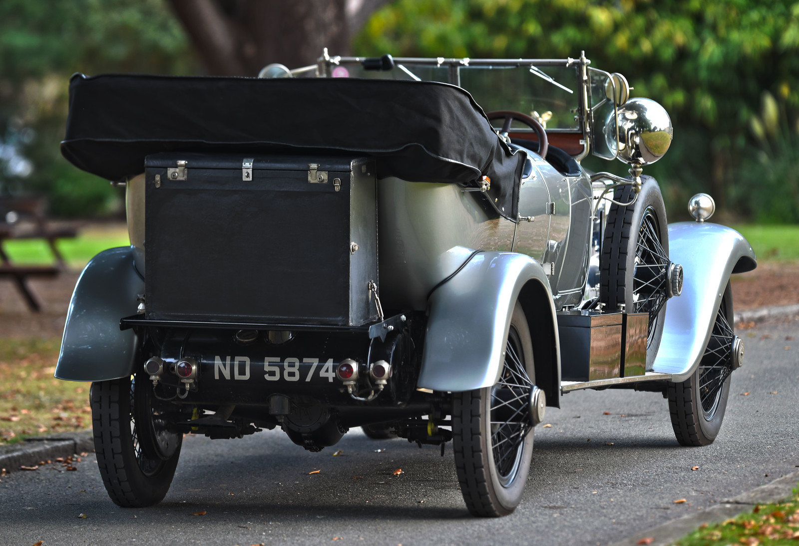1924 Rolls-Royce Silver Ghost Barrel Sided Tourer  For Sale (picture 3 of 6)