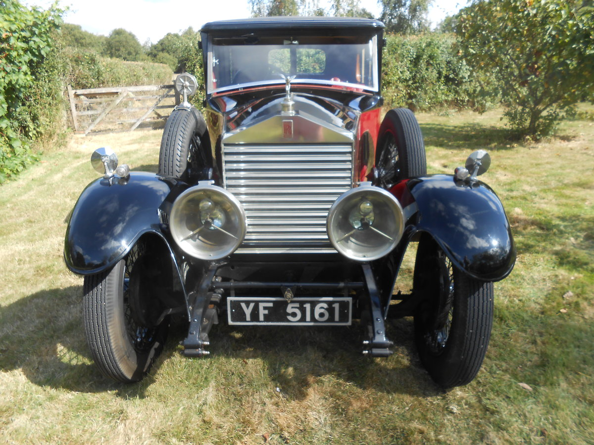 1928 Rolls Royce six light saloon Charming Vintage  SOLD (picture 1 of 6)