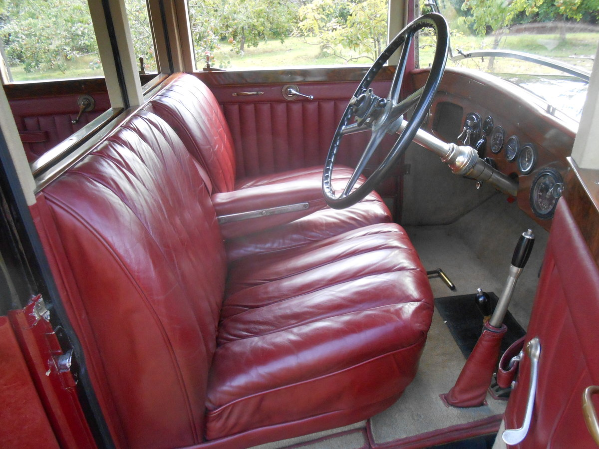1928 Rolls Royce six light saloon Charming Vintage  SOLD (picture 5 of 6)